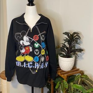 Vintage & Rare Mickey Unlimited Multiprint 3/4 Zip